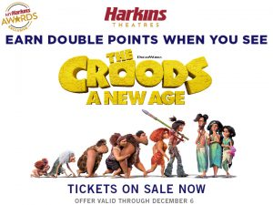Image of the CROOD family promotion