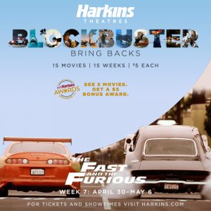 Image of The Fast and Furious Movie Poster
