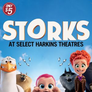 Image of Storks Movie Poster