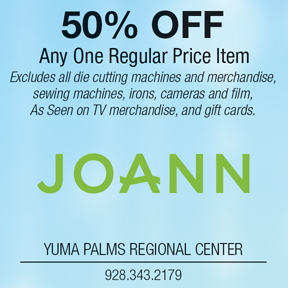JoAnn 50% OFF Coupon