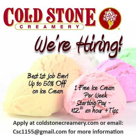 Image of Ice Cream and Cold Stone Creamery Logo