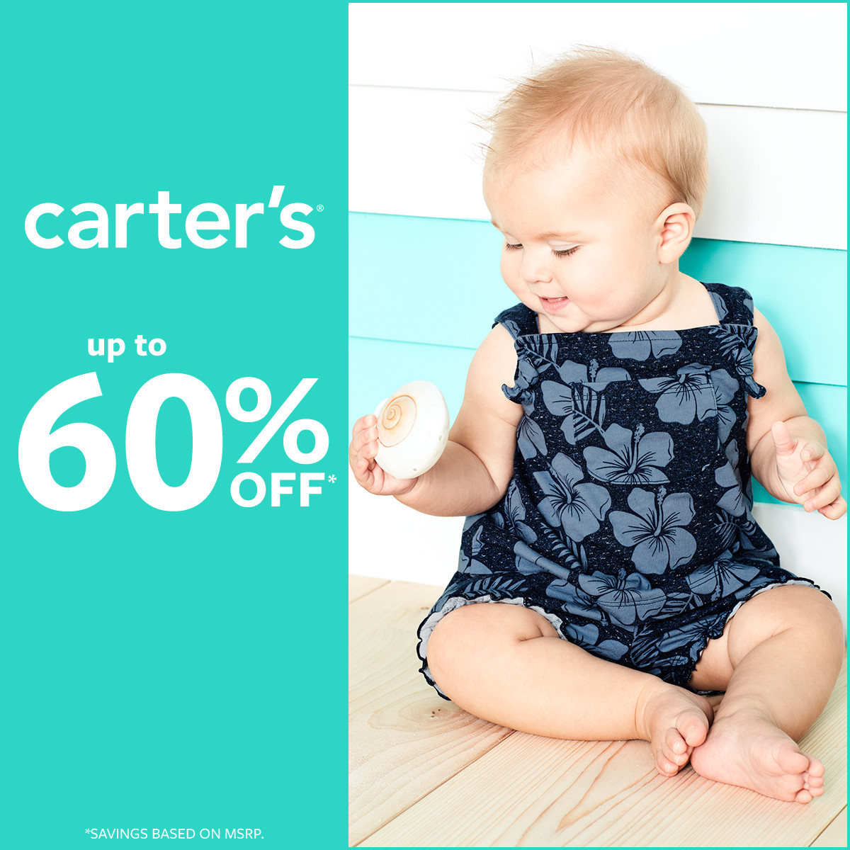 Up To 60% Off*! at Carter's
