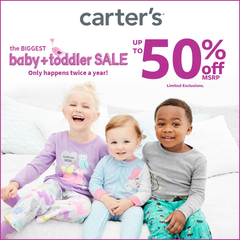 Best of Baby Sale Up to 50% Off* at Carter's